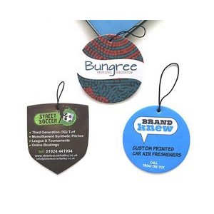 Custom Printed Air Freshener With Custom Logo And Scents 3.5